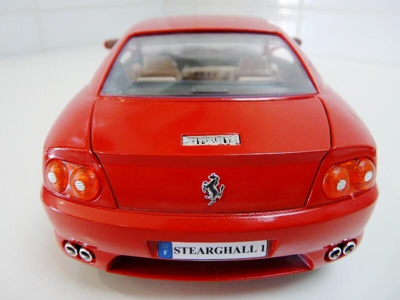 Ferrari 456 GT - 1992 - BBurago 1/18 ème Ferra109