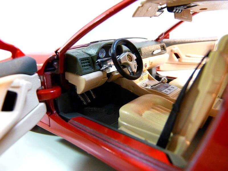 Ferrari 456 GT - 1992 - BBurago 1/18 ème Ferra110