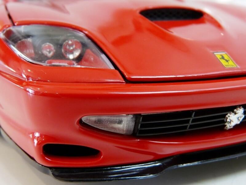 Ferrari 550 Maranello - 1996 - BBurago 1/18 ème Ferra142