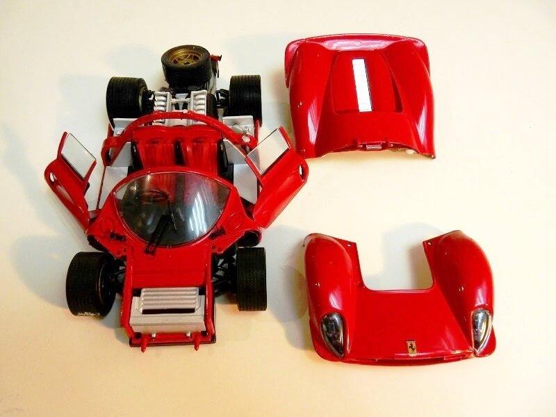 Ferrari 330 P4 - 1967 - Jouef Evolution 1/18 ème Ferrar12