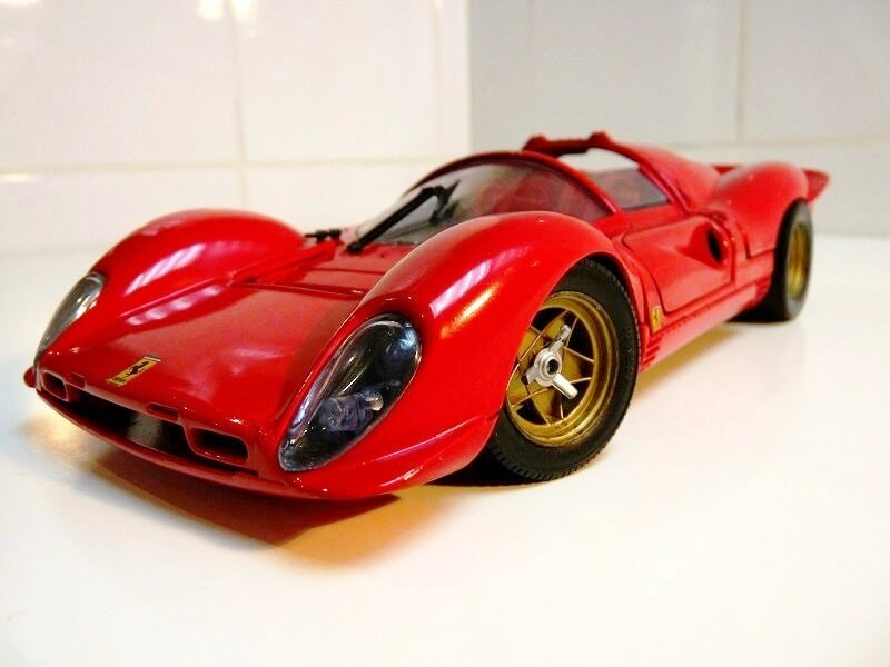 Ferrari 330 P4 - 1967 - Jouef Evolution 1/18 ème Ferrar15