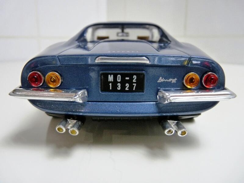Ferrari Dino 246 GT - 1969 - Anson 1/18 ème Ferrar26