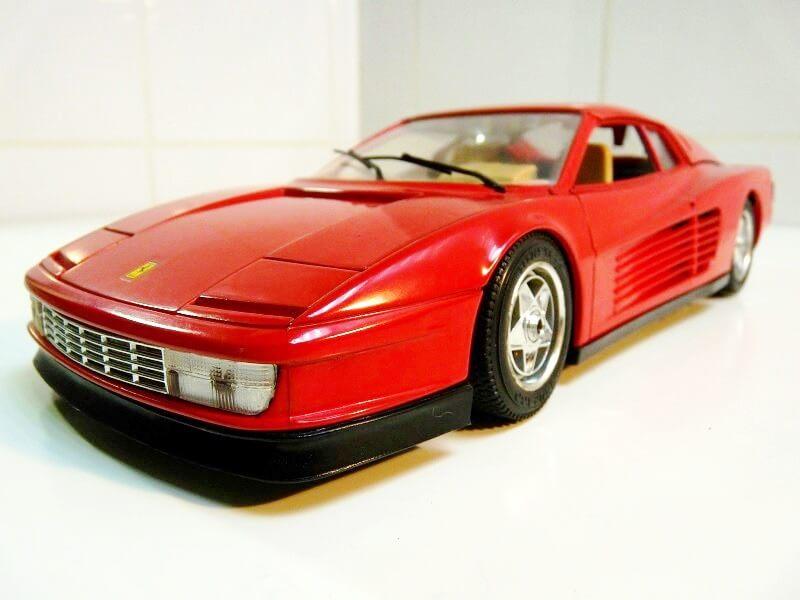 Ferrari Testarossa - 1984 - BBurago 1/18 ème Ferrar47