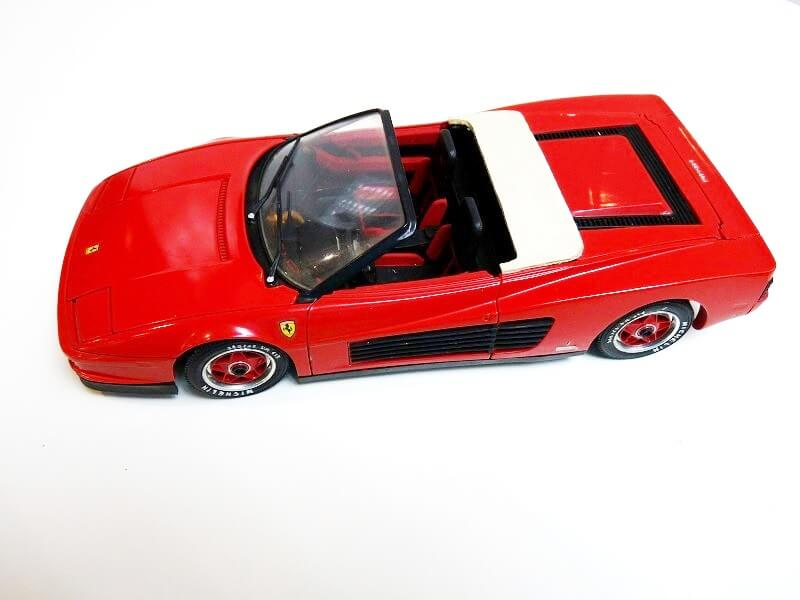 Ferrari Testarossa Cabriolet - 1984 - BBurago modifiée 1/18 ème Ferrar57