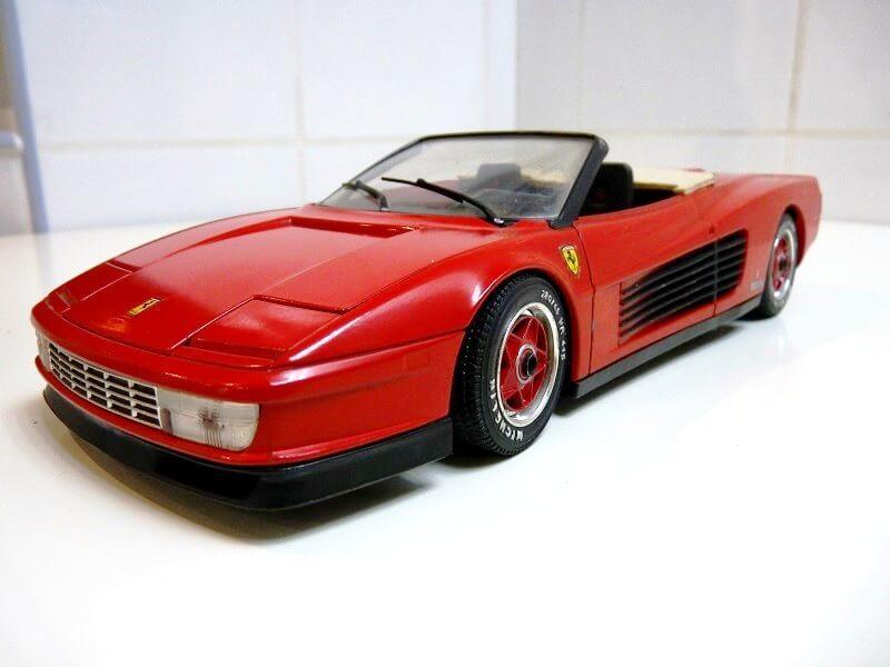 Ferrari Testarossa Cabriolet - 1984 - BBurago modifiée 1/18 ème Ferrar59