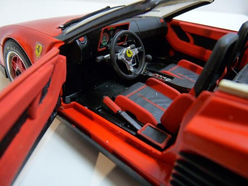 Ferrari Testarossa Cabriolet - 1984 - BBurago modifiée 1/18 ème Ferrar60