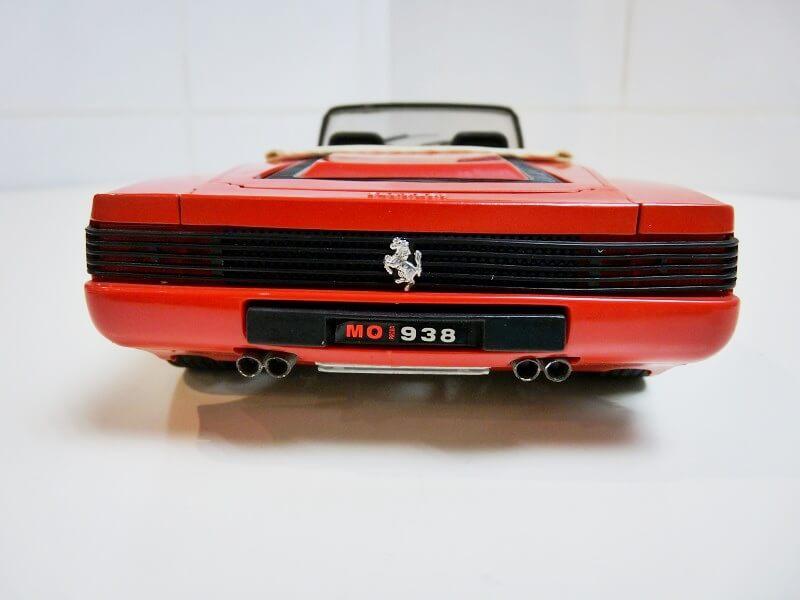 Ferrari Testarossa Cabriolet - 1984 - BBurago modifiée 1/18 ème Ferrar61