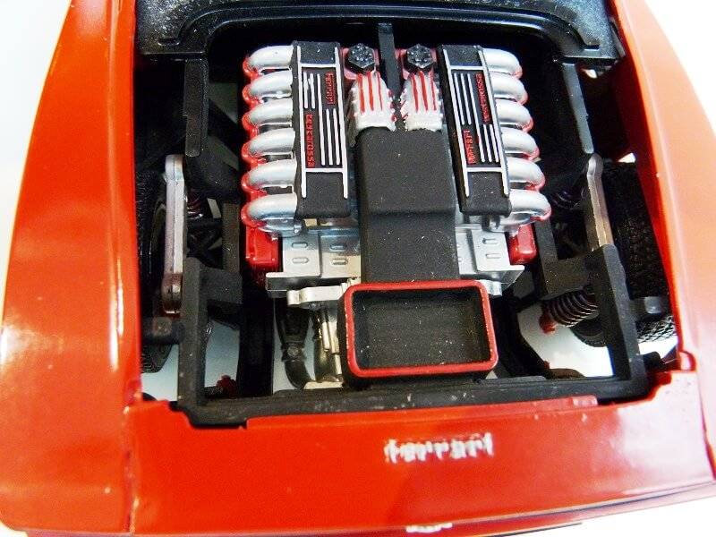 Ferrari Testarossa Cabriolet - 1984 - BBurago modifiée 1/18 ème Ferrar63
