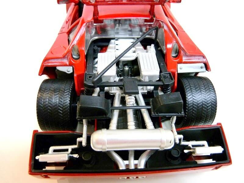 Ferrari F40 - 1987 - Jouef Evolution 1/18 ème Ferrar72