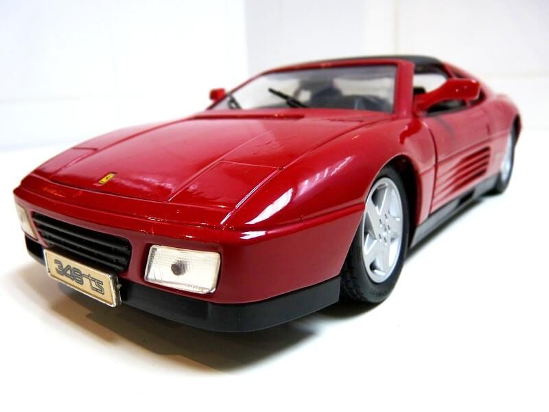 Ferrari 348 TS - 1989 - Tonka Polistil - 1/18 ème Ferrar76