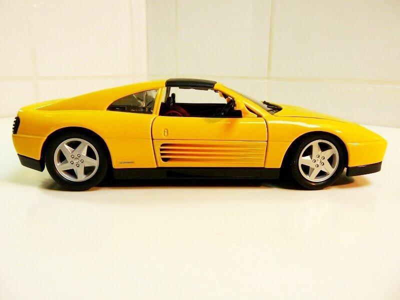 Ferrari 348 TS - 1990 - Tonka Polistil 1/18 ème Ferrar83
