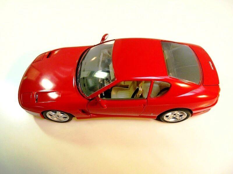 Ferrari 456 GT - 1992 - BBurago 1/18 ème Ferrar91