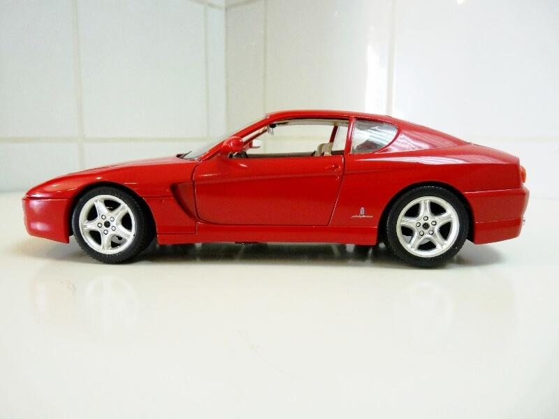 Ferrari 456 GT - 1992 - BBurago 1/18 ème Ferrar92
