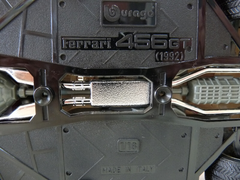 Ferrari 456 GT - 1992 - BBurago 1/18 ème Ferrar96