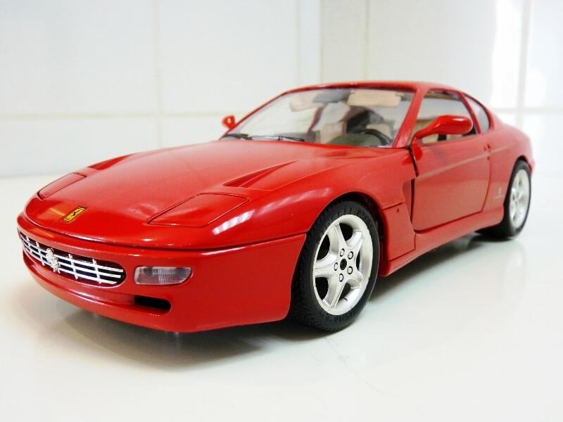 Ferrari 456 GT - 1992 - BBurago 1/18 ème Ferrar97