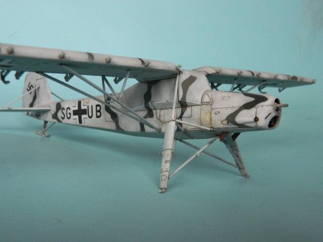 Fieseler Fi-156 - Tamiya 1/48 - Par fombec6 - Fini. Ff02810