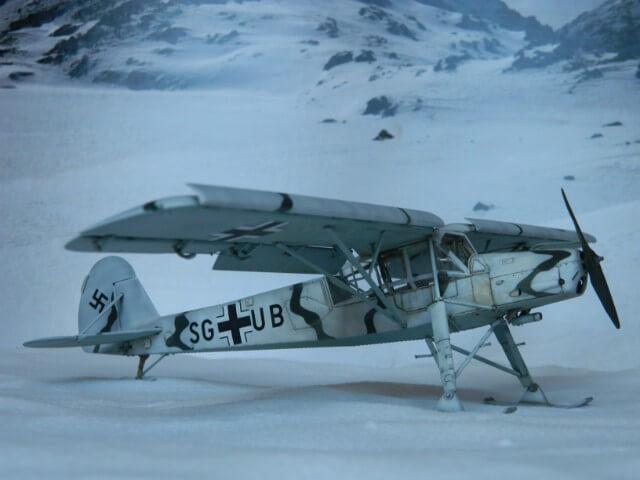 Fieseler Fi-156 - Tamiya 1/48 - Par fombec6 - Fini. Ff03810
