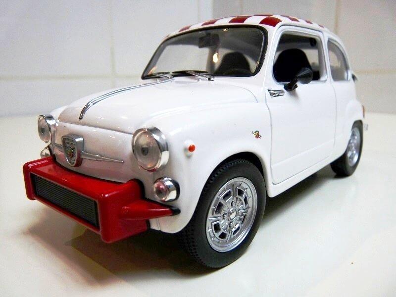 Fiat Abarth 850TC - 1961 - Solido 1/18 ème Fiab8513