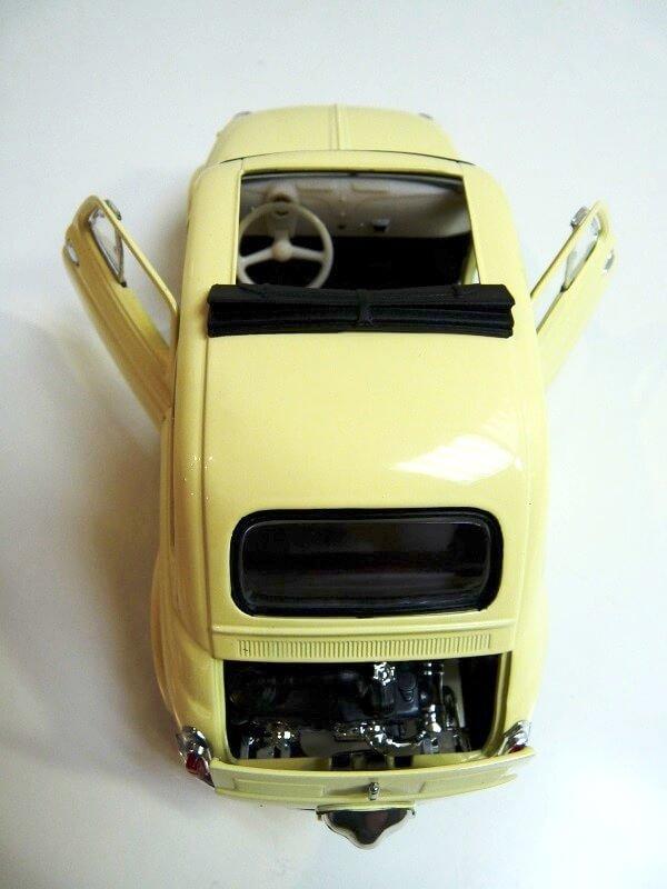 Fiat Nuova 500 C - 1957 - Solido 1/18 ème Finu5010