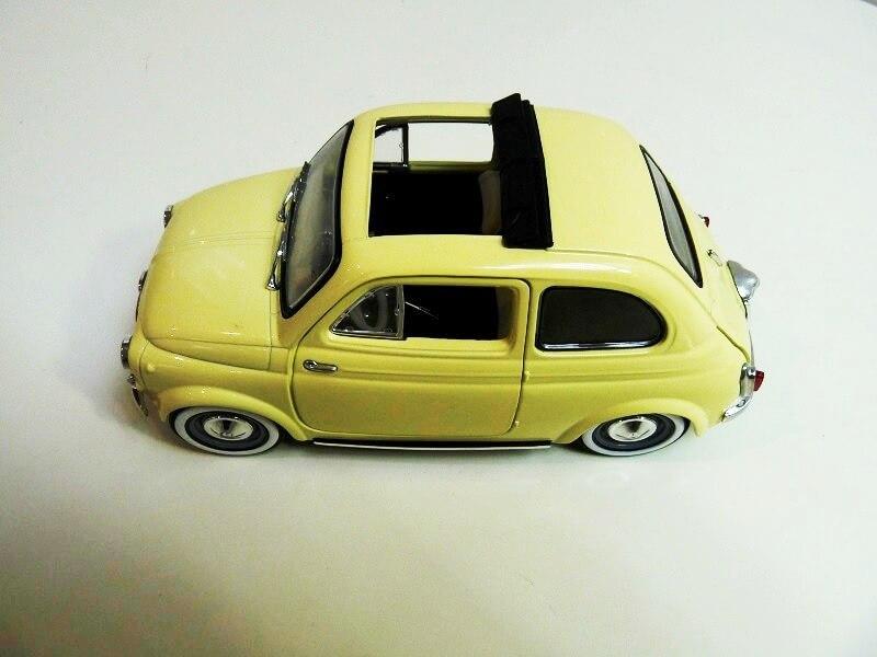 Fiat Nuova 500 C - 1957 - Solido 1/18 ème Finu5011