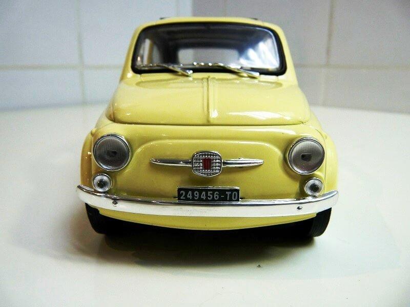 Fiat Nuova 500 C - 1957 - Solido 1/18 ème Finu5012