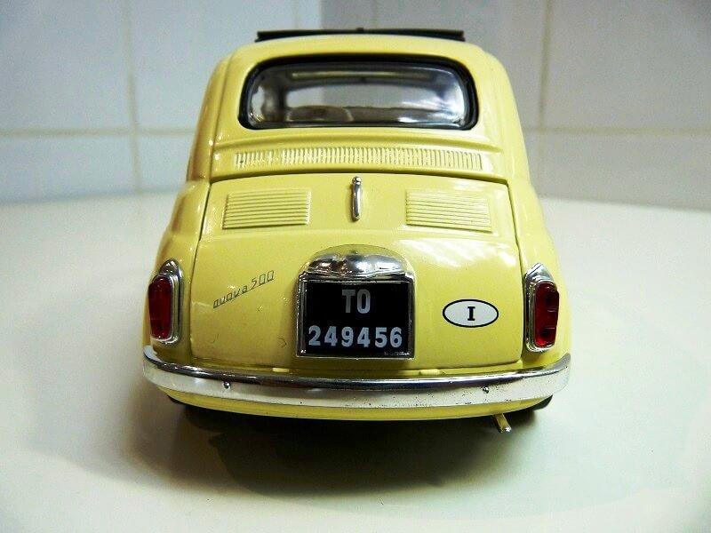 Fiat Nuova 500 C - 1957 - Solido 1/18 ème Finu5013