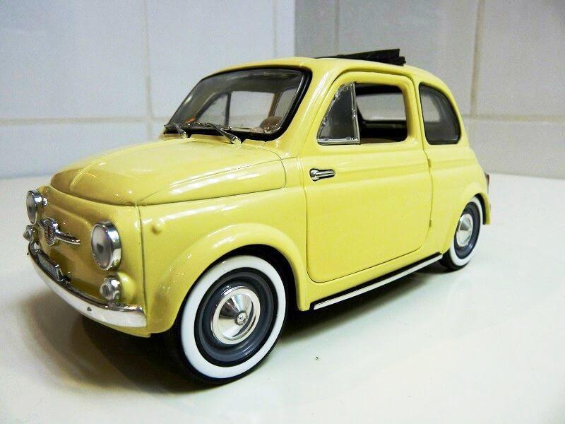 Fiat Nuova 500 C - 1957 - Solido 1/18 ème Finu5014
