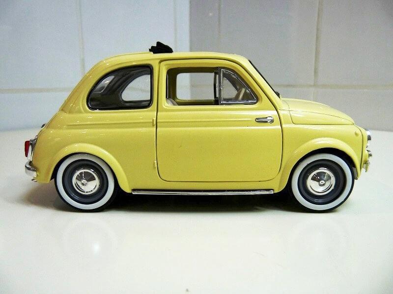 Fiat Nuova 500 C - 1957 - Solido 1/18 ème Finu5015