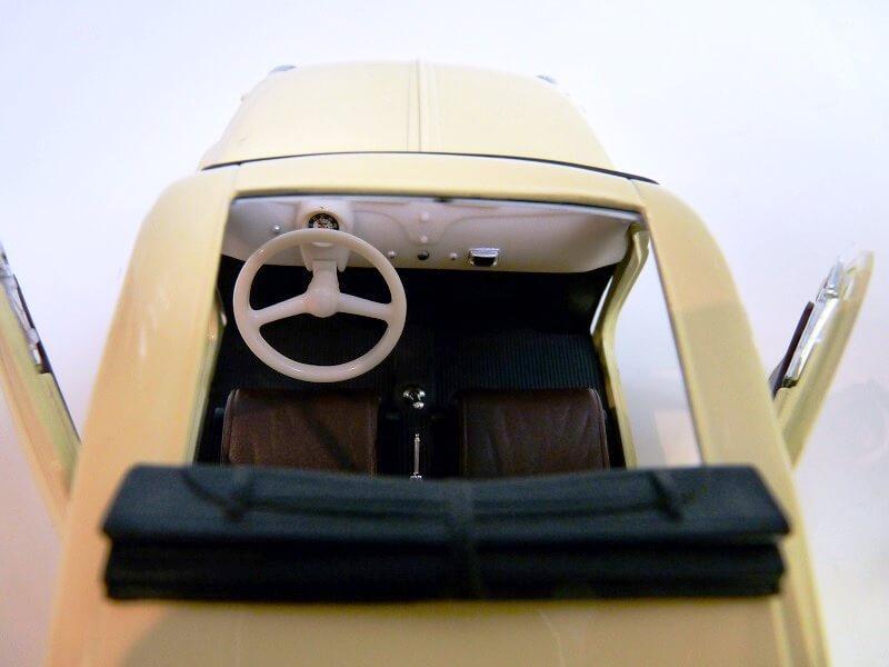 Fiat Nuova 500 C - 1957 - Solido 1/18 ème Finu5016