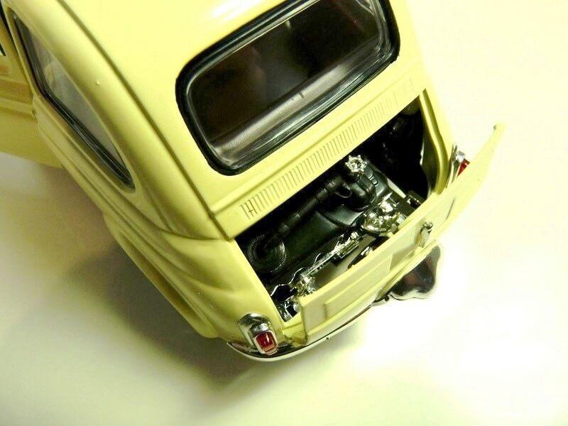 Fiat Nuova 500 C - 1957 - Solido 1/18 ème Finu5017