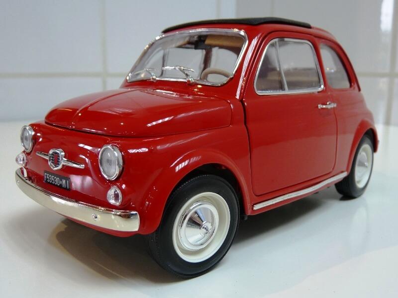 Fiat Nuova 500 - 1964 - BBurago 1/16 ème Finu5019