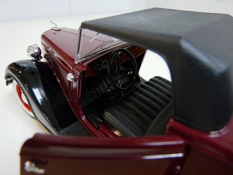 Ford M40 V8 Roadster Deluxe Coupe - 1934 - Solido 1/19 ème Fom40v16