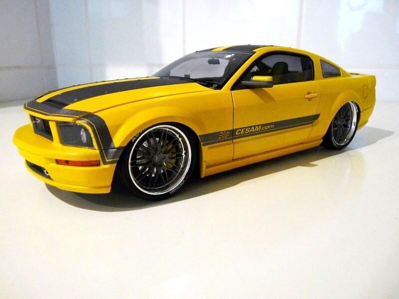 Ford Mustang Césam - 2007 - Norev 1/18 ème Ford_c17
