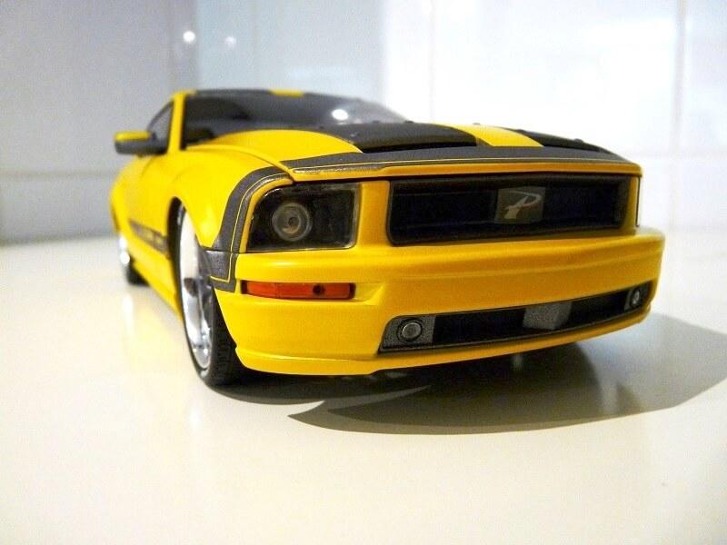 Ford Mustang Césam - 2007 - Norev 1/18 ème Ford_c18