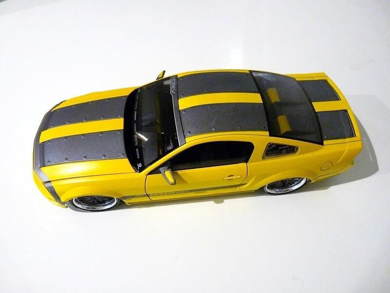 Ford Mustang Césam - 2007 - Norev 1/18 ème Ford_c22