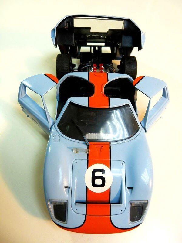 Ford GT40 Le Mans - 1969 - Jouef Evolution 1/18 ème Ford_g18