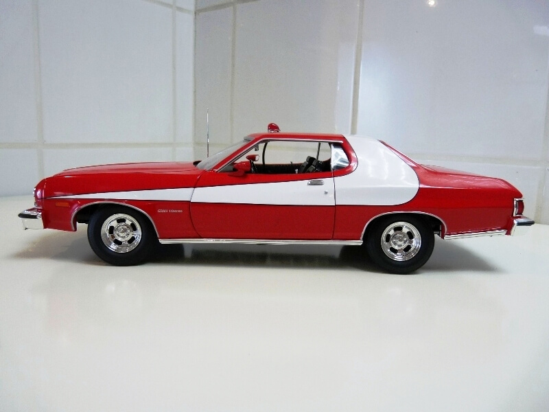 Ford gran torino Starsky & Hutch - 1976 - ERTL 1/18 ème Ford_s24