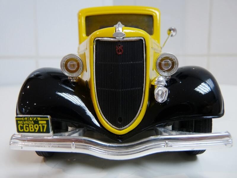 """Ford V8 Pick-up jaune bâché """"Coca-cola"""" - 1936 - Solido 1/19 ème  Fordv835"""