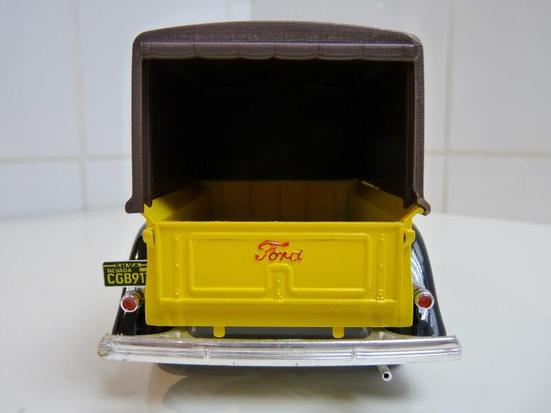 """Ford V8 Pick-up jaune bâché """"Coca-cola"""" - 1936 - Solido 1/19 ème  Fordv842"""
