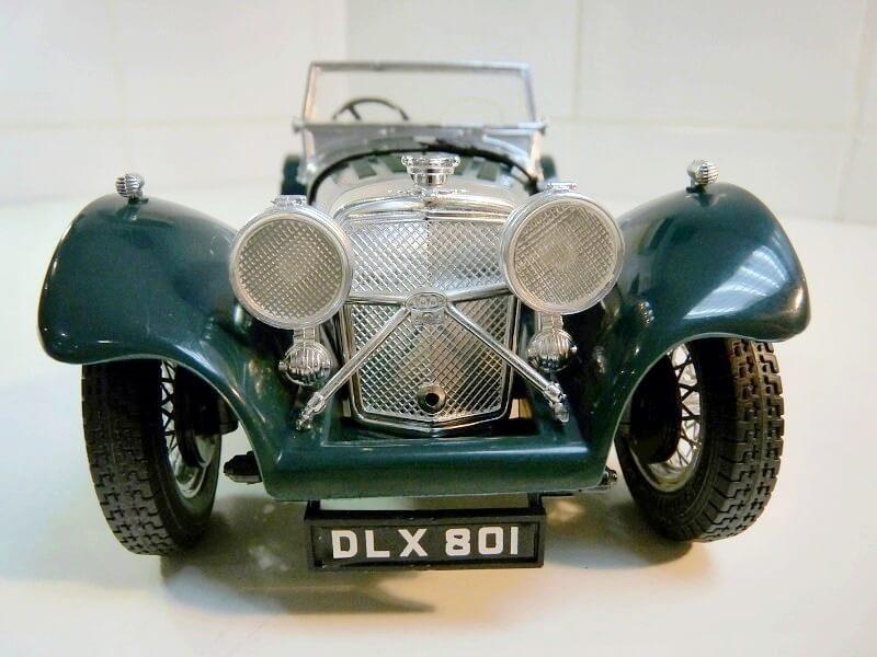 Jaguar SS100 - 1937 - BBurago 1/18 ème Jaguar14
