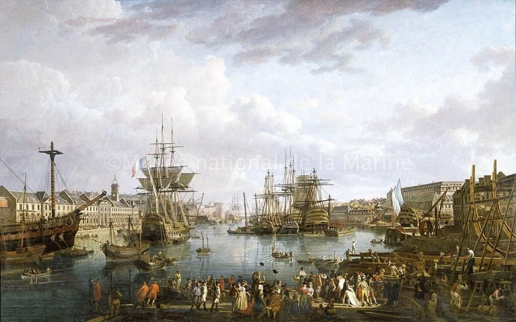 Le port de Brest - Jean-François Hué Jf_hue10