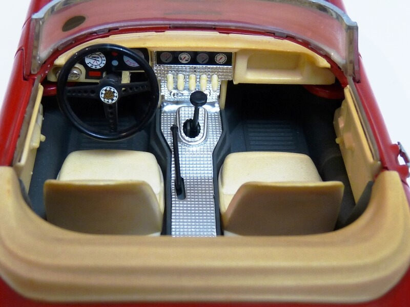 Jaguar Type E Cabriolet rouge - 1961 - BBurago 1/18 ème Jte_ca26