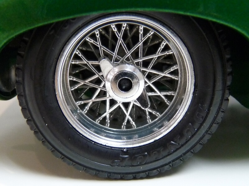 Jaguar Type E Coupé vert- 1961 - BBurago 1/18 Jte_cv29
