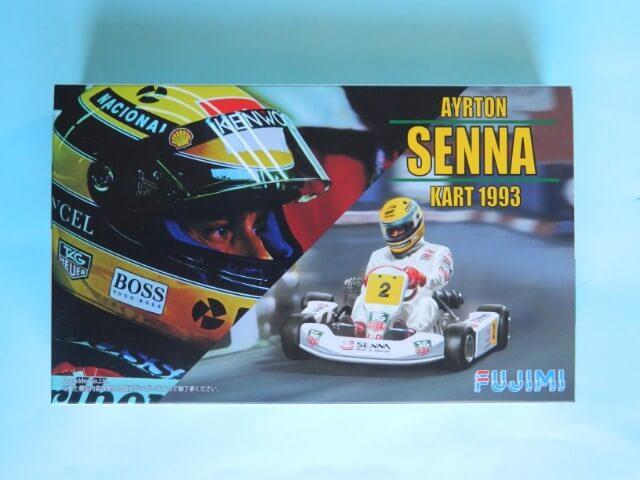 Kart  A. SENNA Bercy 93 - Fujimi 1/20ème - Par fombec6 - Fini . Ks00110