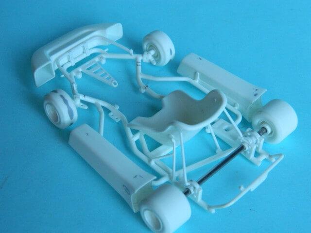 Kart  A. SENNA Bercy 93 - Fujimi 1/20ème - Par fombec6 - Fini . Ks00410