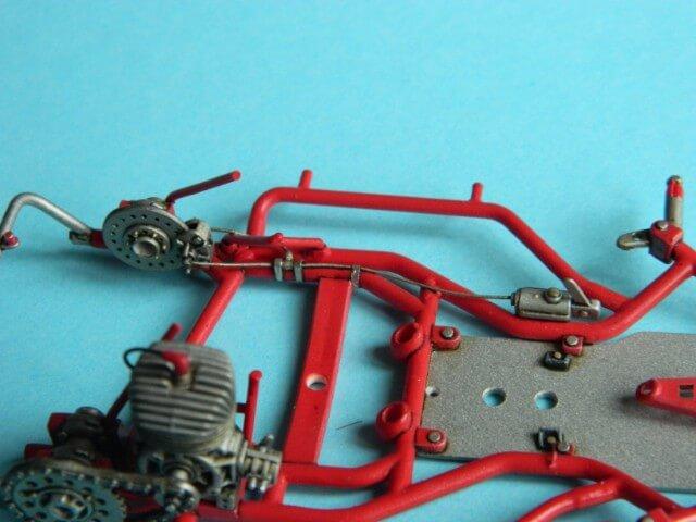 Kart  A. SENNA Bercy 93 - Fujimi 1/20ème - Par fombec6 - Fini . Ks02710