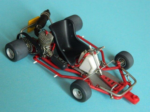 Kart  A. SENNA Bercy 93 - Fujimi 1/20ème - Par fombec6 - Fini . Ks03610