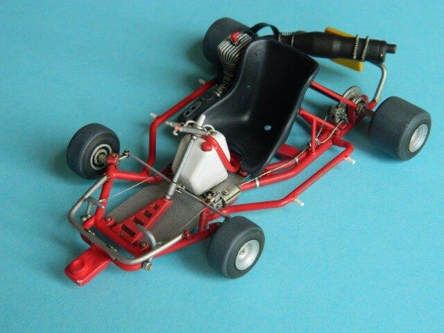 Kart  A. SENNA Bercy 93 - Fujimi 1/20ème - Par fombec6 - Fini . Ks03710