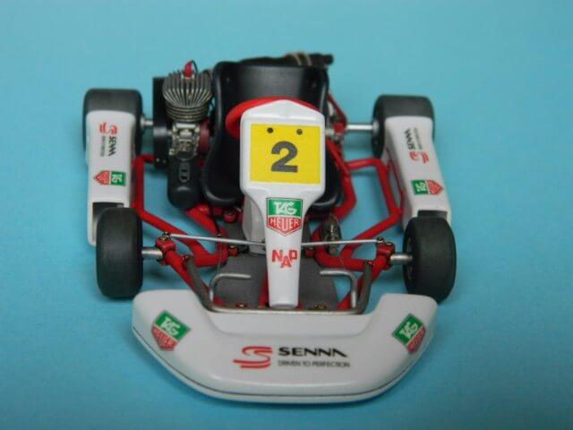 Kart  A. SENNA Bercy 93 - Fujimi 1/20ème - Par fombec6 - Fini . Ks04010