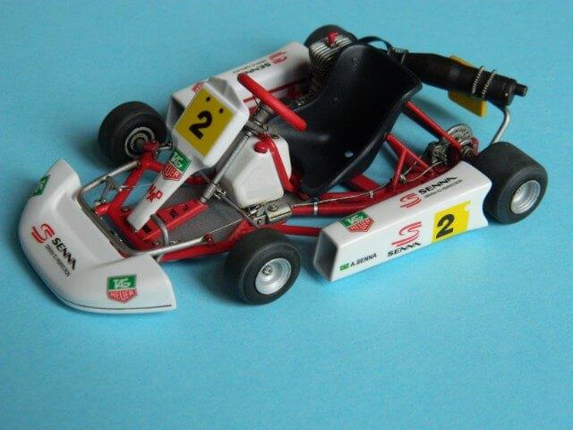 Kart  A. SENNA Bercy 93 - Fujimi 1/20ème - Par fombec6 - Fini . Ks04110